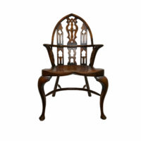 Antique-Wood-Armchair