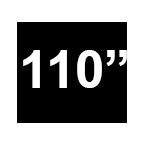 """XL 110"""" W"""