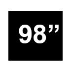 """Sofa 98"""""""
